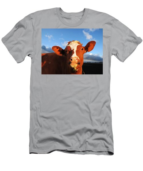 Moo Don't Say Cow Men's T-Shirt (Athletic Fit)