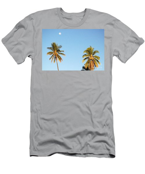 Moon Over Molokai Men's T-Shirt (Athletic Fit)