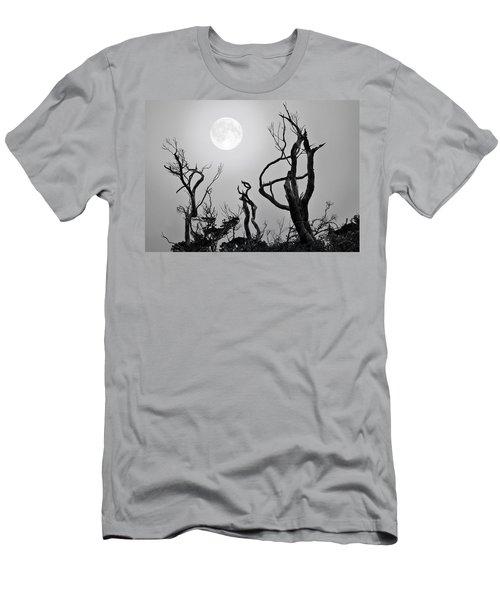 Moon Whisperer Men's T-Shirt (Athletic Fit)