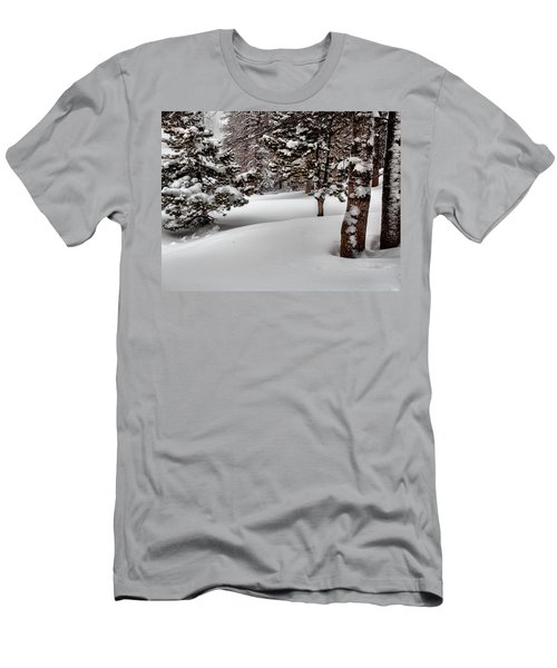 Morning Drifts Men's T-Shirt (Athletic Fit)