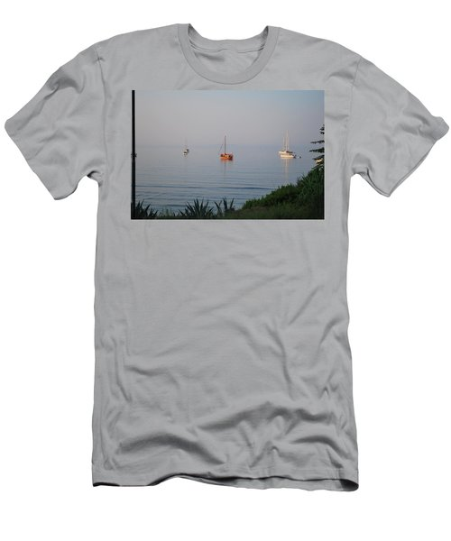 Men's T-Shirt (Slim Fit) featuring the photograph Morning by George Katechis