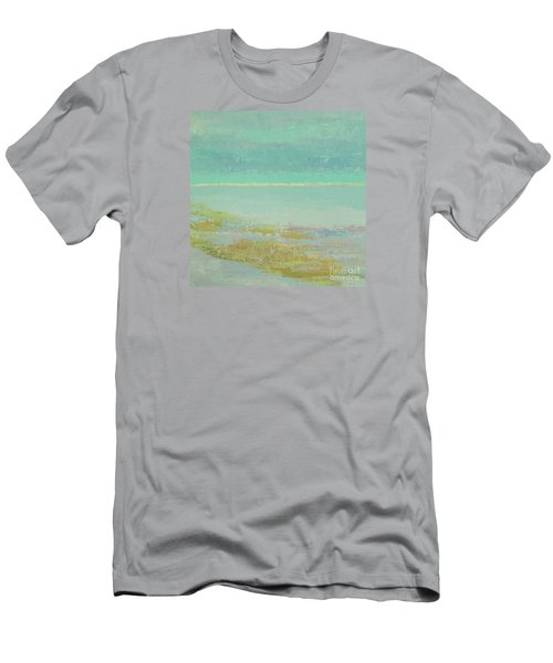 Morning Low Tide Men's T-Shirt (Slim Fit) by Gail Kent