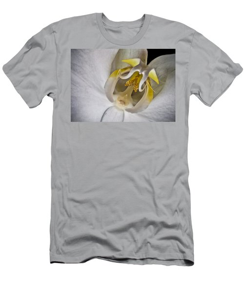 Moth Orchid Inverted Men's T-Shirt (Athletic Fit)