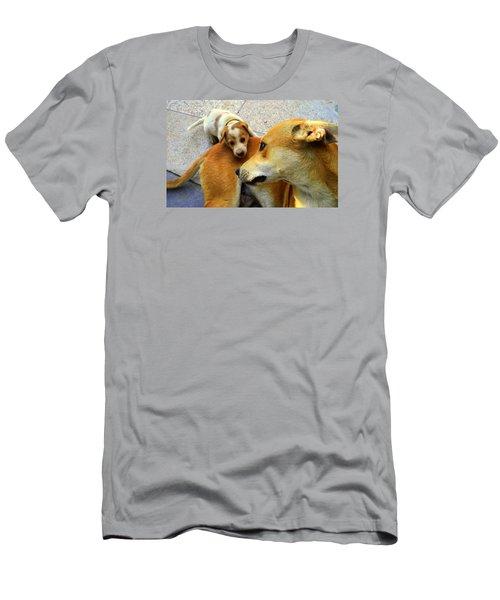 Mother's Affection Men's T-Shirt (Slim Fit) by Salman Ravish