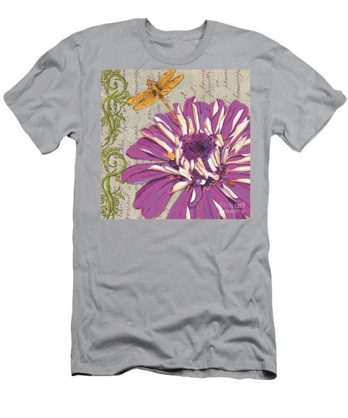 Moulin Floral 2 Men's T-Shirt (Athletic Fit)