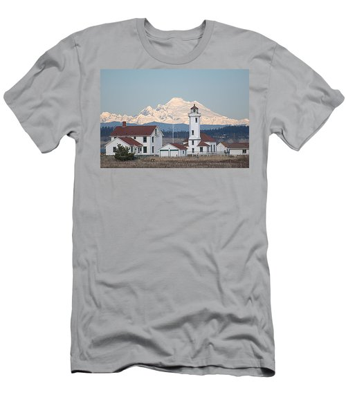 Mount Baker And Point Wilson Light Station Men's T-Shirt (Athletic Fit)