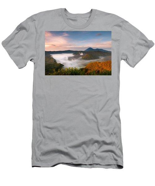 Mount Bromo Sunrise Men's T-Shirt (Athletic Fit)