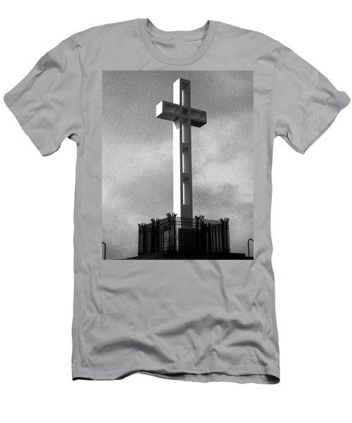 Mount Soledad Cross 2 Men's T-Shirt (Athletic Fit)