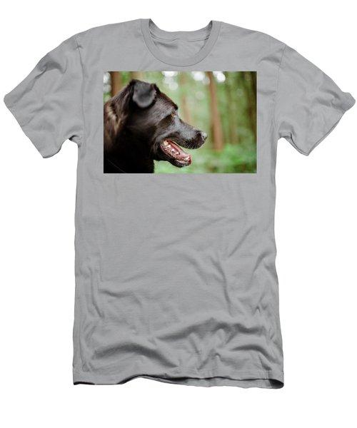 Mountain Biking Men's T-Shirt (Athletic Fit)