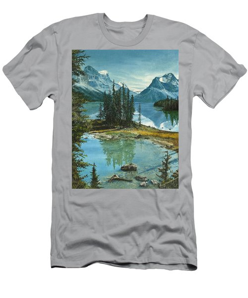 Mountain Island Sanctuary Men's T-Shirt (Athletic Fit)