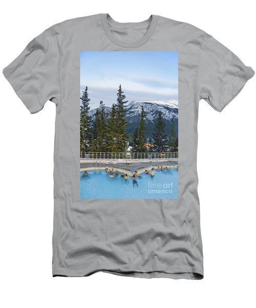 Mountain Paradise Men's T-Shirt (Athletic Fit)