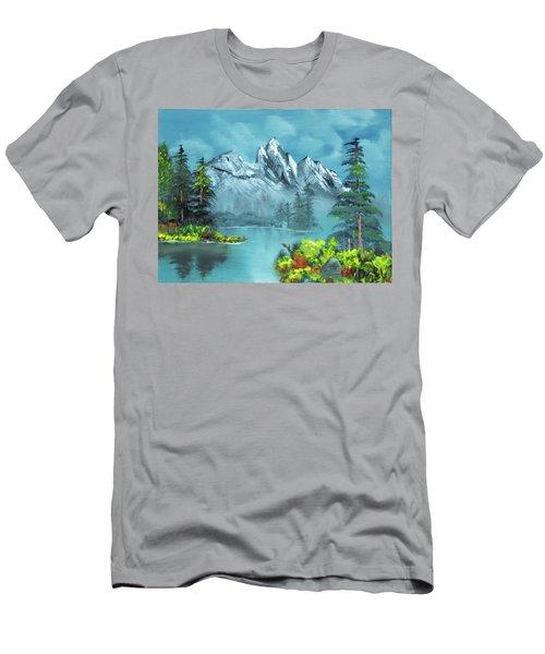 Mountain Retreat Men's T-Shirt (Athletic Fit)