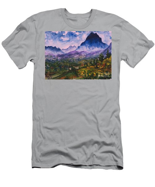 Mountains Of Pyrenees  Men's T-Shirt (Athletic Fit)