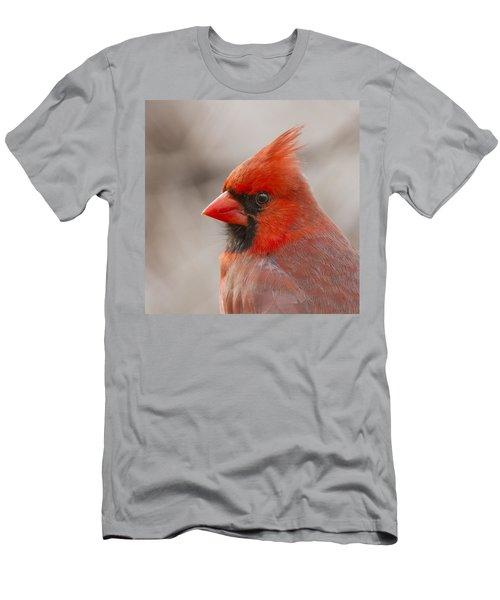 Mr Cardinal Portrait Men's T-Shirt (Athletic Fit)