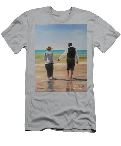 Mr. Carson And Mrs. Hughes Men's T-Shirt (Slim Fit) by Bev Conover