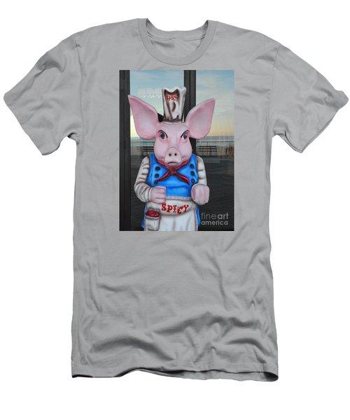 Mr. Spicy 2 Men's T-Shirt (Slim Fit) by Sami Martin