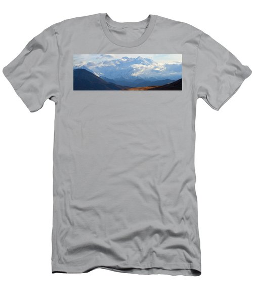 Men's T-Shirt (Slim Fit) featuring the photograph Mt. Denali by Ann Lauwers