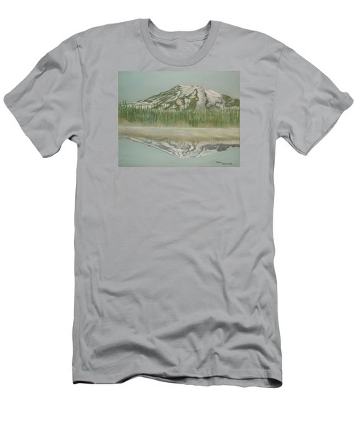 Mt Rainier Men's T-Shirt (Athletic Fit)