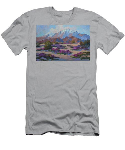 Mt. San Jacinto And Verbena Men's T-Shirt (Athletic Fit)