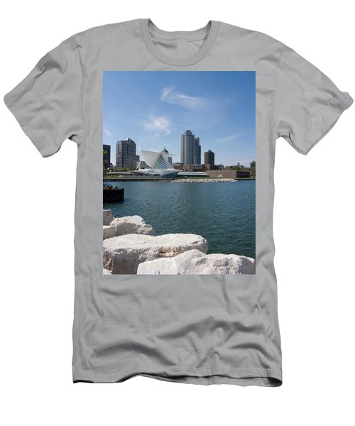Museum At The Waterfront, Milwaukee Art Men's T-Shirt (Athletic Fit)