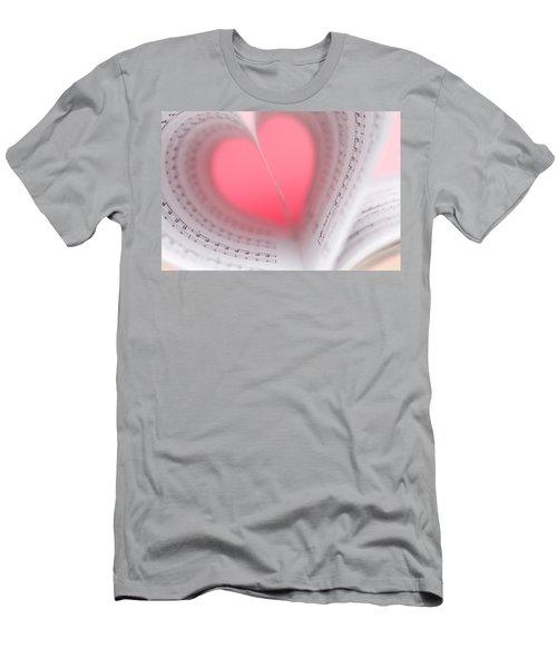 Music Lover Men's T-Shirt (Athletic Fit)