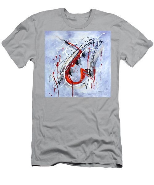 Musical Abstract 005 Men's T-Shirt (Athletic Fit)