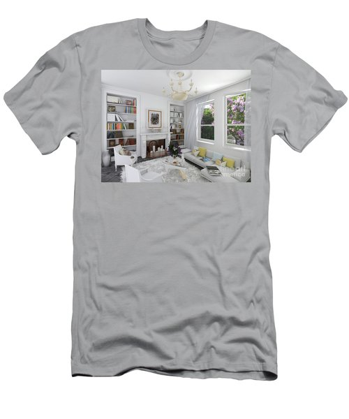 My Art In The Interior Decoration -venetian Balcony-  Elena Yakubovich Men's T-Shirt (Athletic Fit)