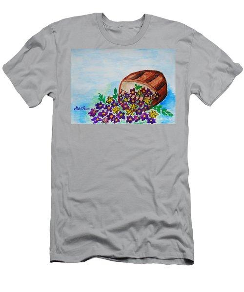 My Flower Basket Men's T-Shirt (Athletic Fit)