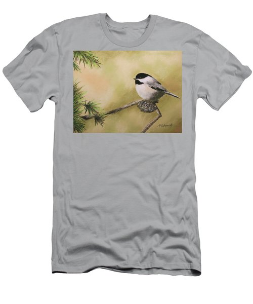 My Little Chickadee Men's T-Shirt (Athletic Fit)