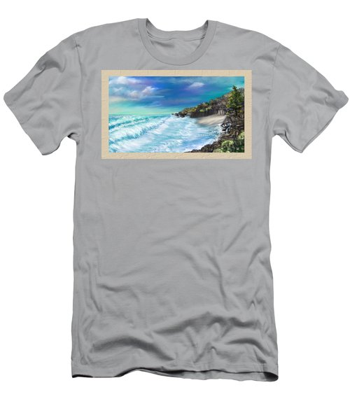 My Private Ocean Men's T-Shirt (Athletic Fit)