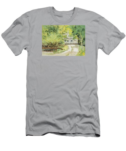 My Secret Hiding Place Men's T-Shirt (Athletic Fit)