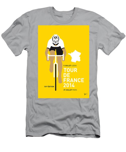 My Tour De France Minimal Poster 2014 Men's T-Shirt (Athletic Fit)