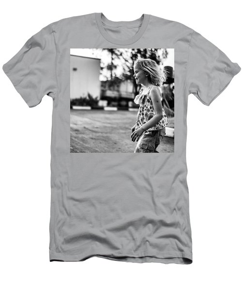 Mya Playing In Nigeria Men's T-Shirt (Athletic Fit)