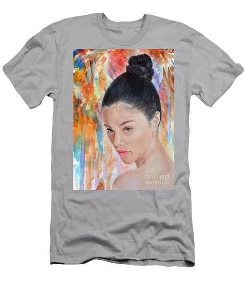 Myra Molloy Winner Of Thailand Got Talent II Men's T-Shirt (Slim Fit) by Jim Fitzpatrick