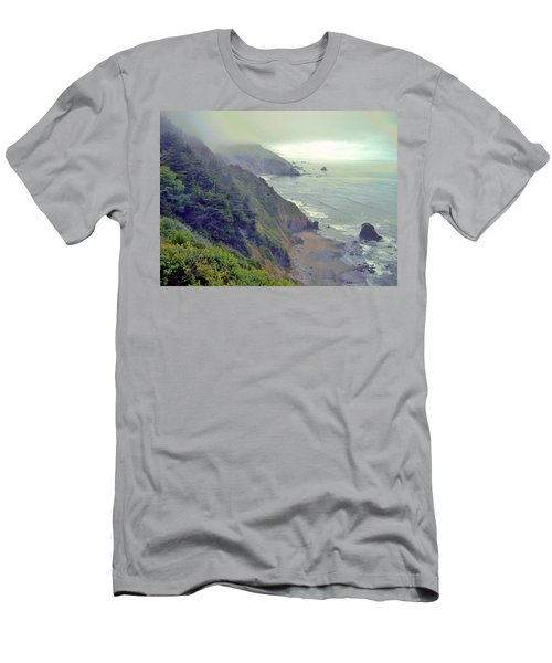Men's T-Shirt (Slim Fit) featuring the photograph Mystic by Marilyn Diaz