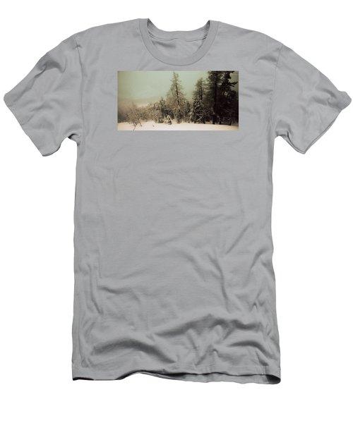 Mystic Woods Men's T-Shirt (Slim Fit) by Vittorio Chiampan