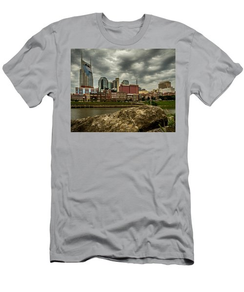 Nashville Tennessee Men's T-Shirt (Athletic Fit)