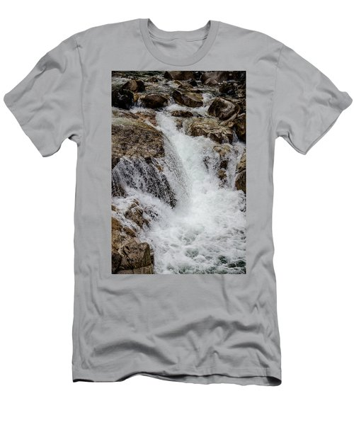 Naturally Pure Waterfall Men's T-Shirt (Athletic Fit)