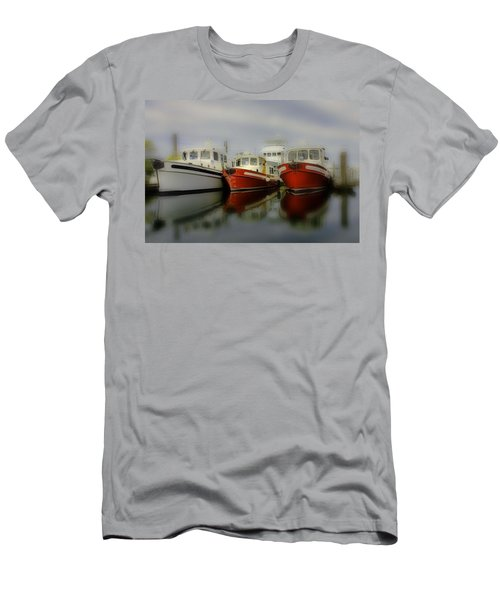 Men's T-Shirt (Slim Fit) featuring the photograph Nautical by Sonya Lang
