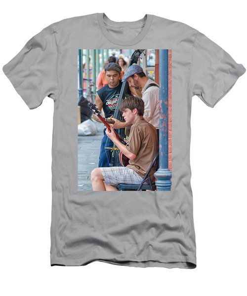 New Orleans Street Trio Men's T-Shirt (Athletic Fit)