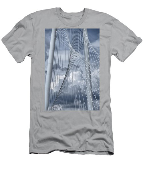 New Skyline Bridge Men's T-Shirt (Slim Fit) by Joan Carroll