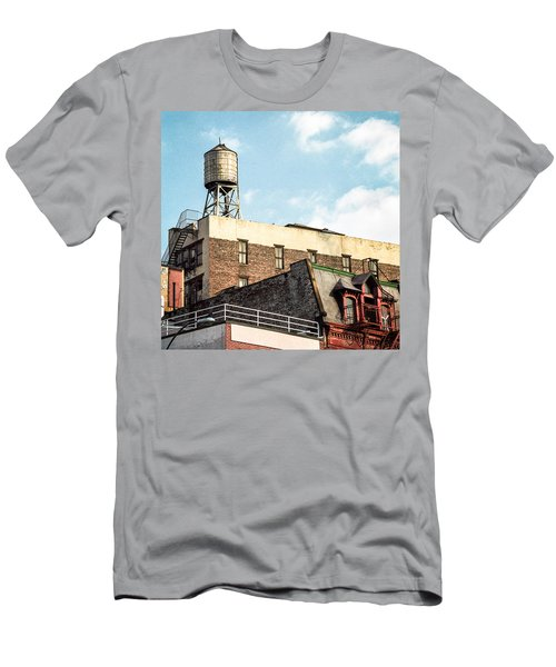 New York City Water Tower 2 Men's T-Shirt (Athletic Fit)