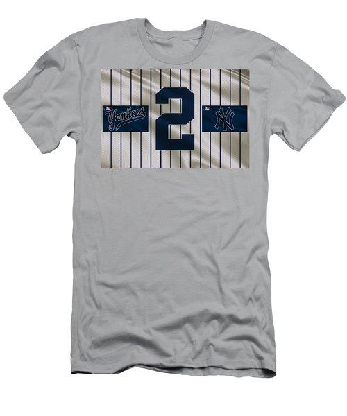 New York Yankees Derek Jeter Men's T-Shirt (Athletic Fit)