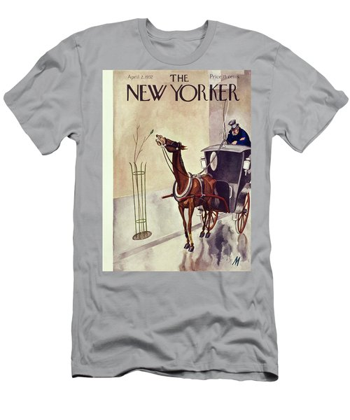 New Yorker April 2 1932 Men's T-Shirt (Athletic Fit)