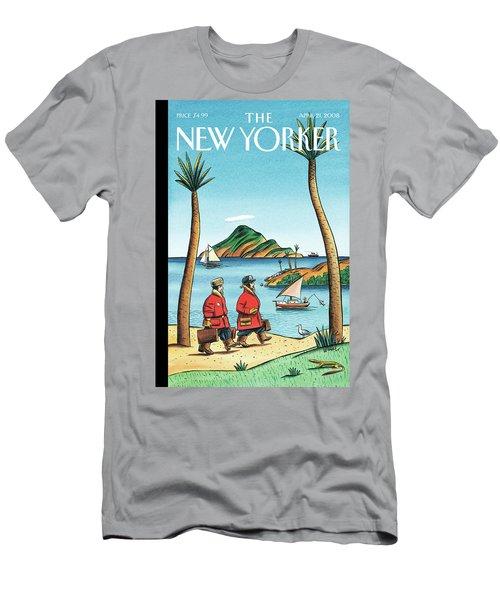 New Yorker April 21st, 2008 Men's T-Shirt (Athletic Fit)