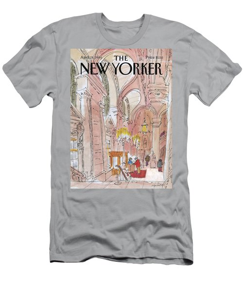 New Yorker April 28th, 1986 Men's T-Shirt (Athletic Fit)