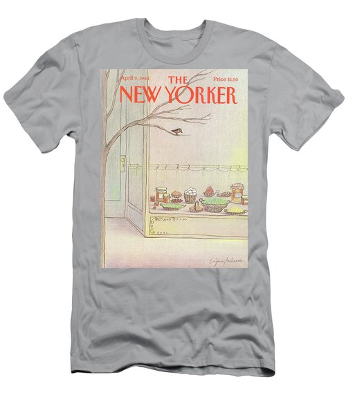 New Yorker April 9th, 1984 Men's T-Shirt (Athletic Fit)