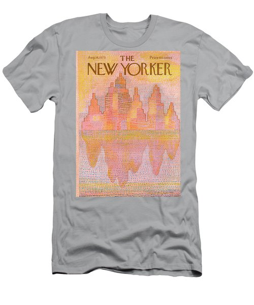 New Yorker August 18th, 1975 Men's T-Shirt (Athletic Fit)