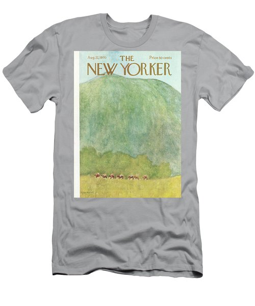 New Yorker August 22nd, 1970 Men's T-Shirt (Athletic Fit)