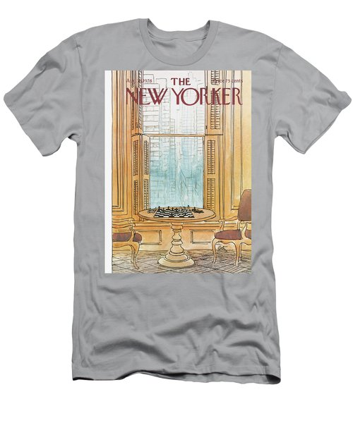New Yorker August 30th, 1976 Men's T-Shirt (Athletic Fit)